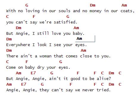 angie 2